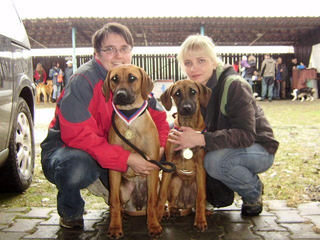 Bailey (vpravo) a Cilla (vlevo)